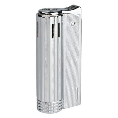 Zapalovač Faro Round Silver(24112)