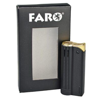 Zapalovač Faro Round Black