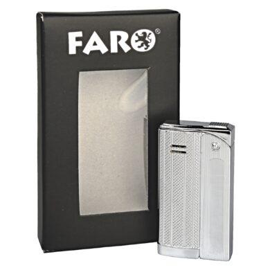 Zapalovač Faro Slim Silver