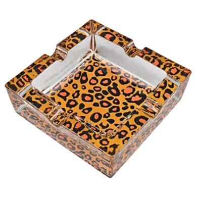 Cigaretový popelník skleněný Gepard(11014.5)