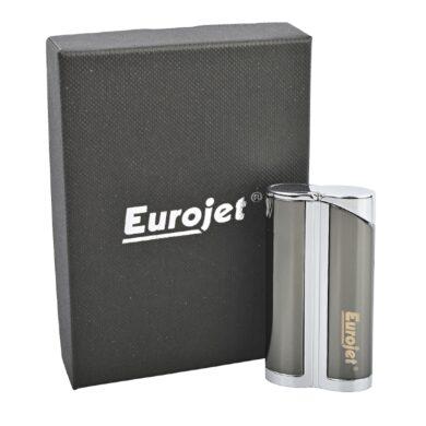 Tryskový zapalovač Eurojet Yorki, šedý