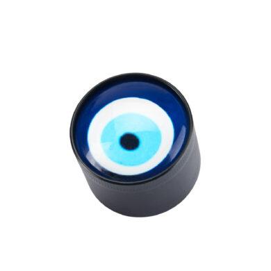 Drtič tabáku Champ H. Evil Eye kovový, 40mm