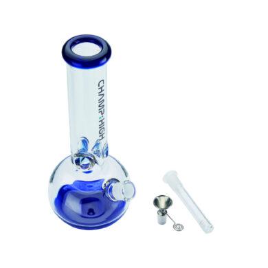 Skleněný bong Champ High Blue Ice 30cm