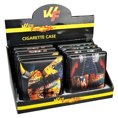 Cigaretové pouzdro Wildfire Tatoo, 20cig.(06415)