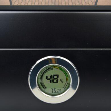 Humidor na doutníky Lamborghini Monte Carlo Blackglass