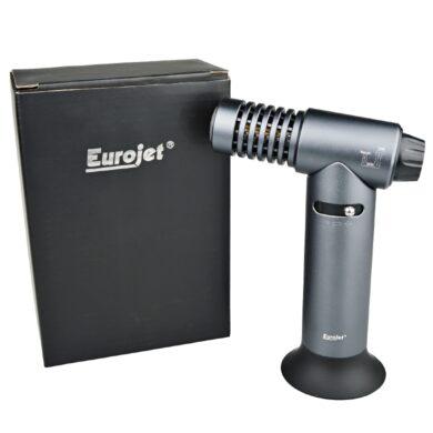 Stolní zapalovač Eurojet Table Jet šedý