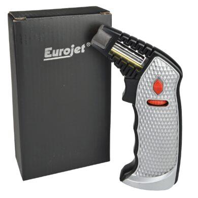 Stolní zapalovač Eurojet Bruno Jet stříbrný