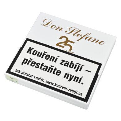 Doutníky Don Stefano Senorita Sumatra 25 years LE, 10ks