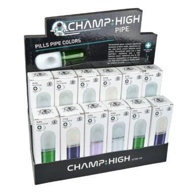 Šlukovka skleněná Champ High, 10cm