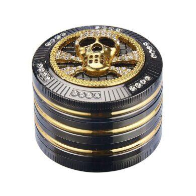 Drtič na tabák Champ High Skull kovový 50mm