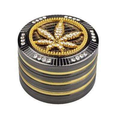 Drtič na tabák Champ High Leaf kovový 50mm