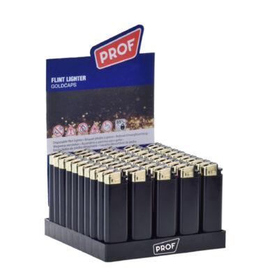Zapalovač PROF Flint Goldcaps(804550)