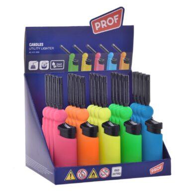 Domácnostní zapalovač PROF Piezo Colored(411656)