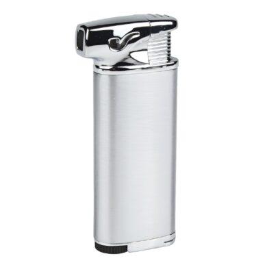 Dýmkový zapalovač Eurojet Burg, stříbrný(257250)