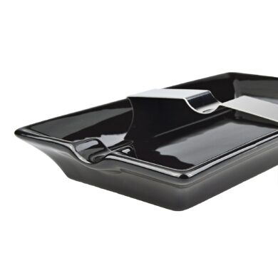Doutníkový popelník keramický 1D, černý