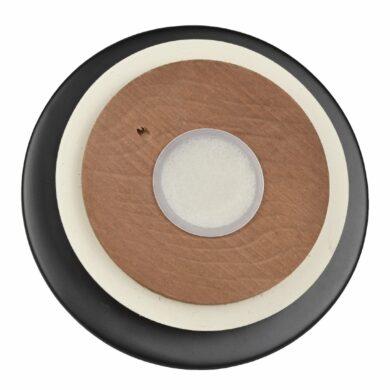 Dóza na tabák keramická černá matná