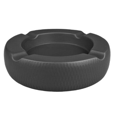 Doutníkový popelník keramický Passatore 4D, černý