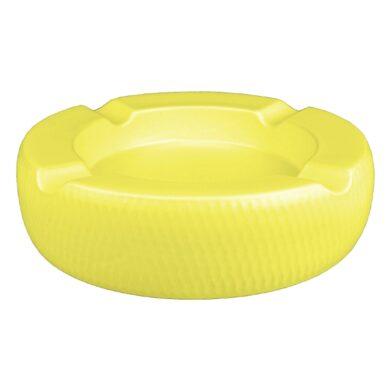 Doutníkový popelník keramický Passatore 4D, žlutý