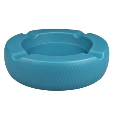 Doutníkový popelník keramický Passatore 4D, modrý
