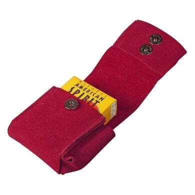 Pouzdro na cigarety JOY 85/100mm, červené