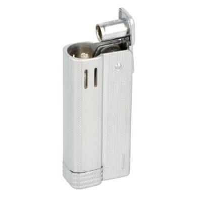 Benzínový zapalovač Angel Austria Silver