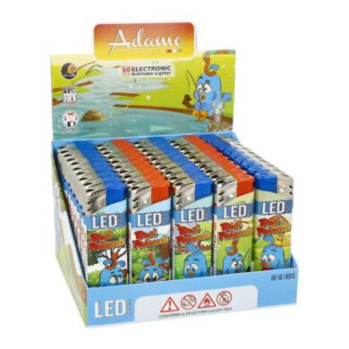 Zapalovač Adamo Piezo LED Birds(204266)