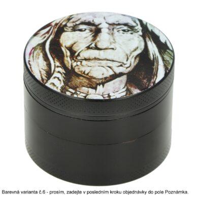 Drtič tabáku kovový WildFire Animals, 50mm