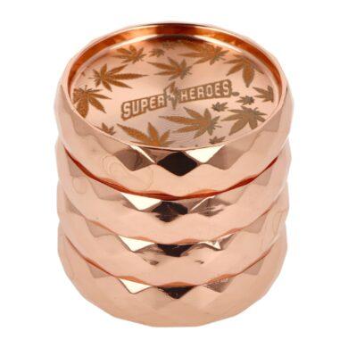 Drtič tabáku kovový Super Heroes Copper, 53mm(340026)