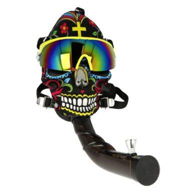 Akrylový bong Maska Super Heroes černý(344470)