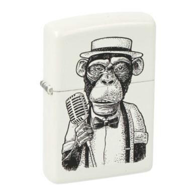 Zapalovač Zippo Vintage Monkey, matný(Z 151575)