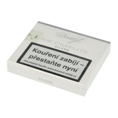 Doutníky Davidoff Mini Cigarillos Silver, 20ks