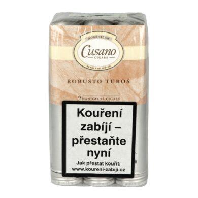 Doutníky Bundle Selection by Cusano Tubos Robusto, 9ks