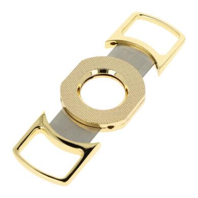 Doutníkový ořezávač Faro zlatý, 25mm