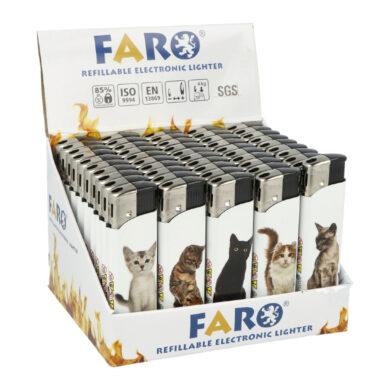 Zapalovač FARO Piezo Cats(18415)