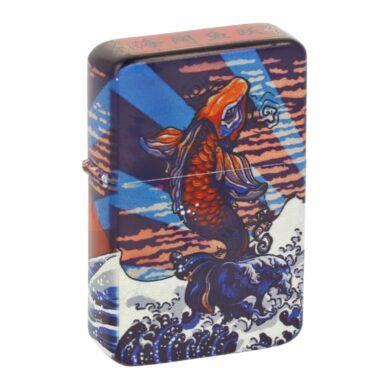 Benzínový zapalovač Angel Mountain, box