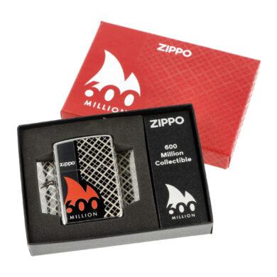 Zapalovač Zippo 600 Million Edition, leštěný(Z 172780)