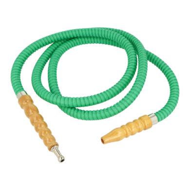 Náhradní hadice (šlauch) pro vodní dýmku, zelená, 1,75m