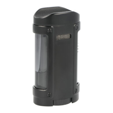 Doutníkový zapalovač Eurojet Hamar 4xJet, černý(224170)