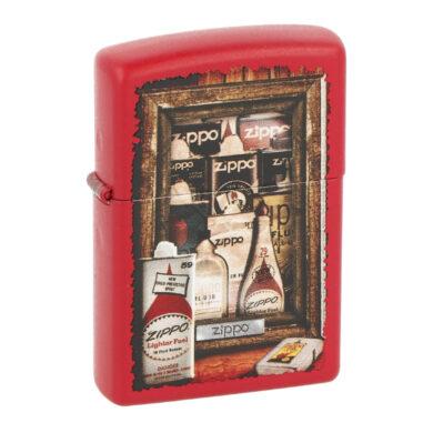 Zapalovač Zippo Fuel Cans, matný