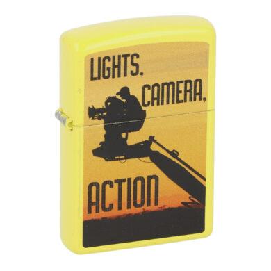 Zapalovač Zippo Camera Man, lesklý