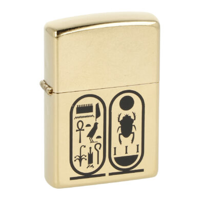 Zapalovač Zippo Tutankhamun, patina