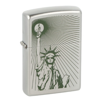 Zapalovač Zippo Statue of Liberty, satin(Z 140026S)