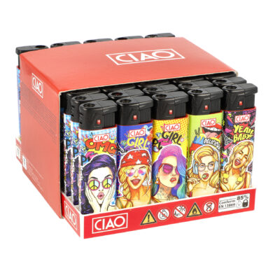 Zapalovač CIAO Turbo Babes(CCRT086)