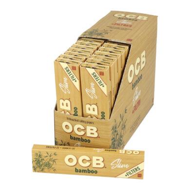 Cigaretové papírky OCB Slim Bamboo+Filters(024300)