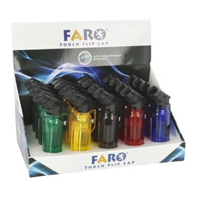 Zapalovač Faro Torch Jet Transparent(41001)
