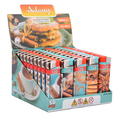Zapalovač Adamo LED Smell Cinnamon(146602)