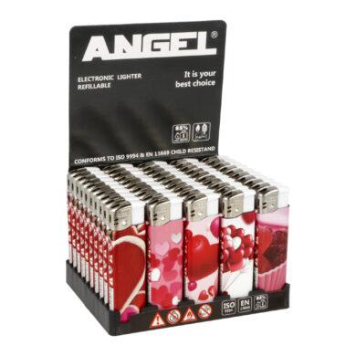 Zapalovač Angel Piezo Hearts(204232)