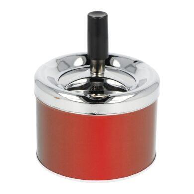 Cigaretový popelník otočný kovový, malý(40028)
