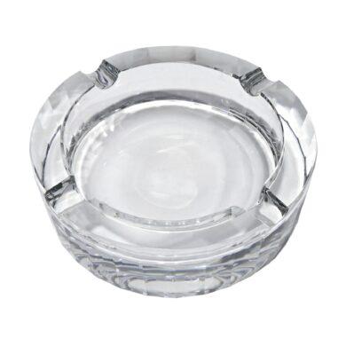 Doutníkový popelník křišťálový, kulatý(42402X)