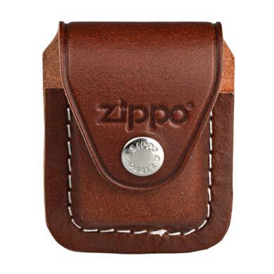 Kapsička Zippo na zapalovač, hnědá